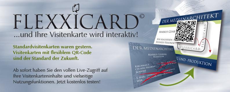 Flexxicard Nie Mehr Visitenkarten Mit Falschen Kontaktdaten